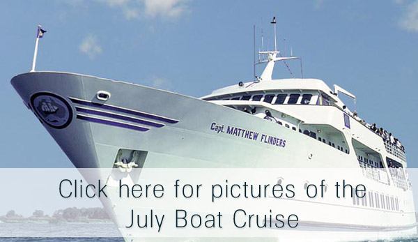 joels private party boat cruise july