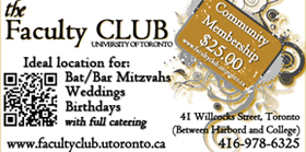 The Faculty Club - University of Toronto