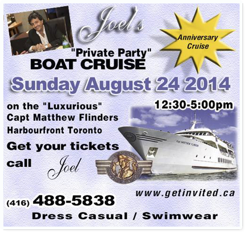 august boat cruise