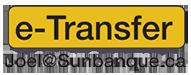 pay by interac e-transfer