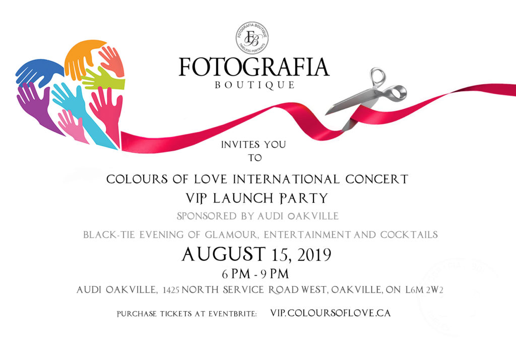Colours of Love VIP Concert